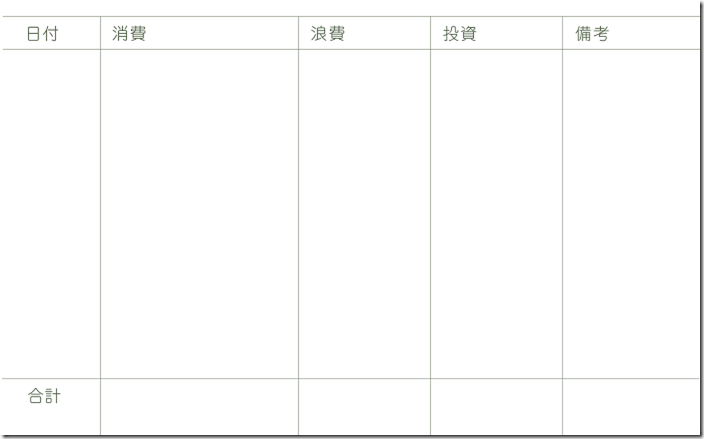 家計簿_表面blog
